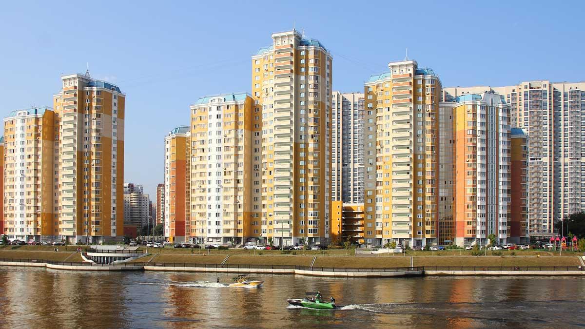 Новые дома Красногорск