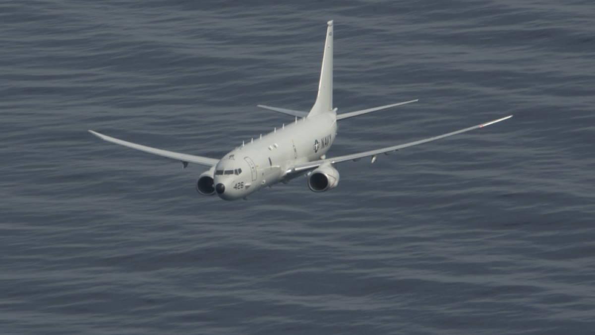 Противолодочный самолёт P-8A Poseidon