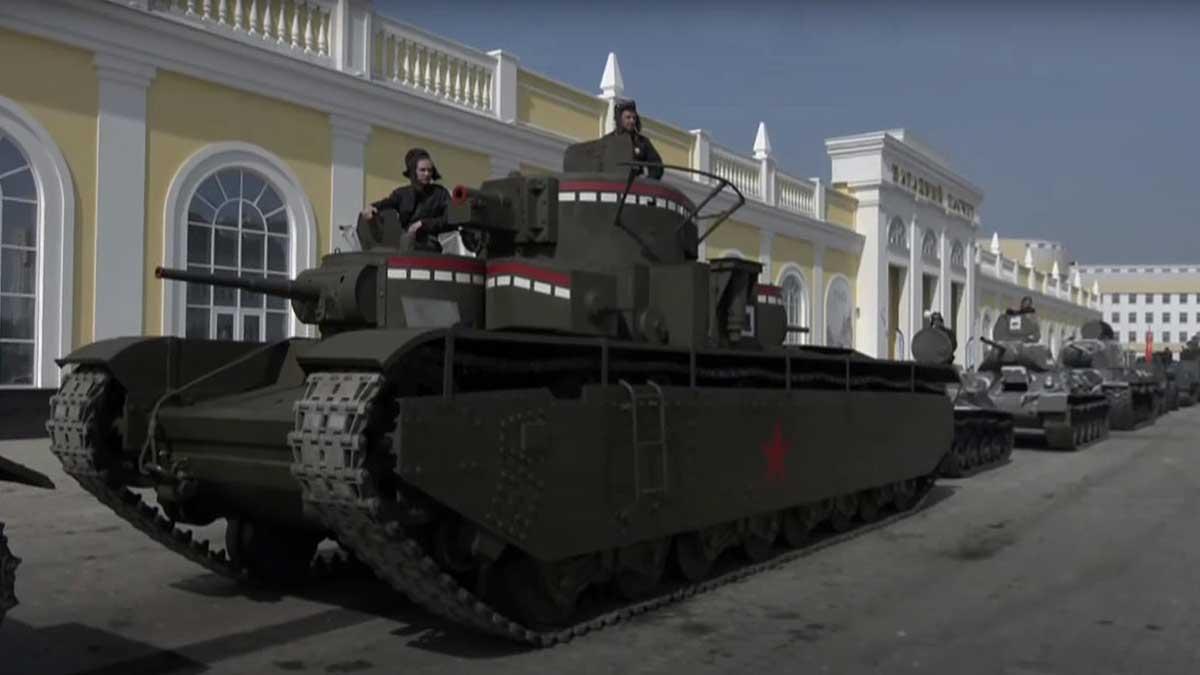 Парад танки Верхняя Пышма