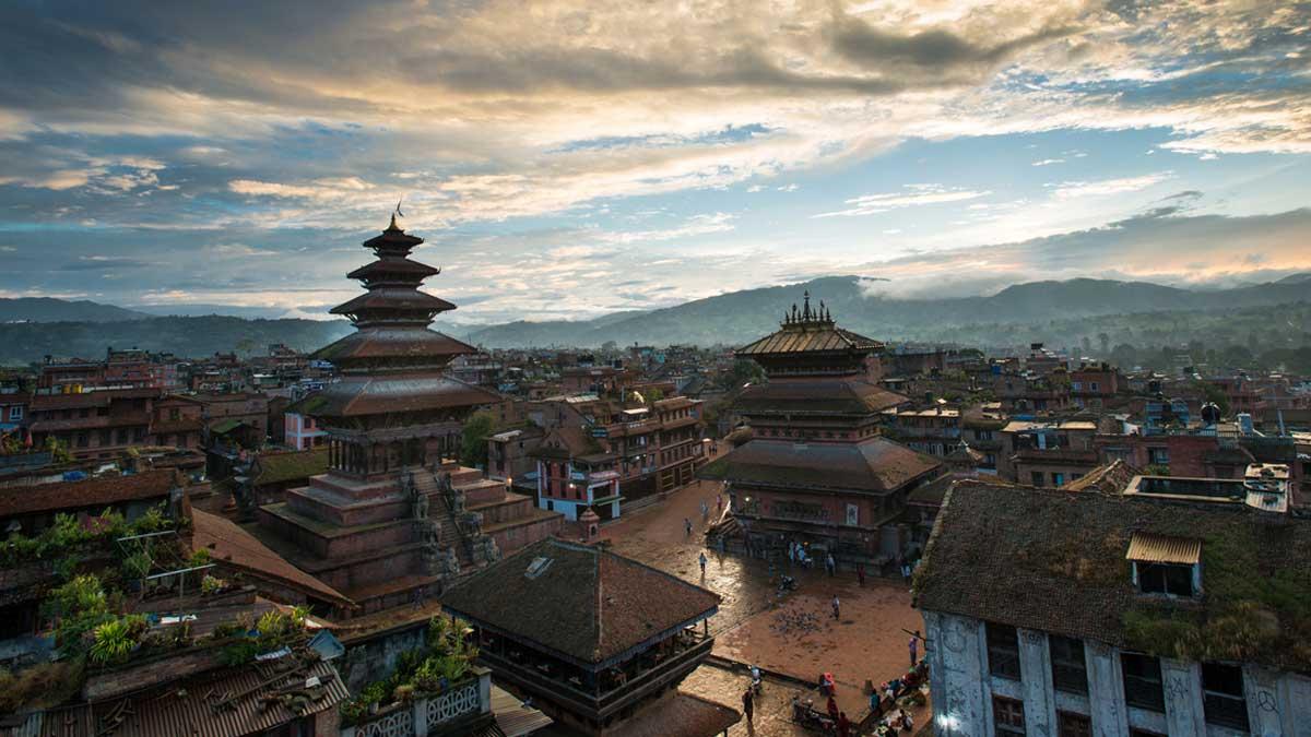 Площадь Дурбар в Непале