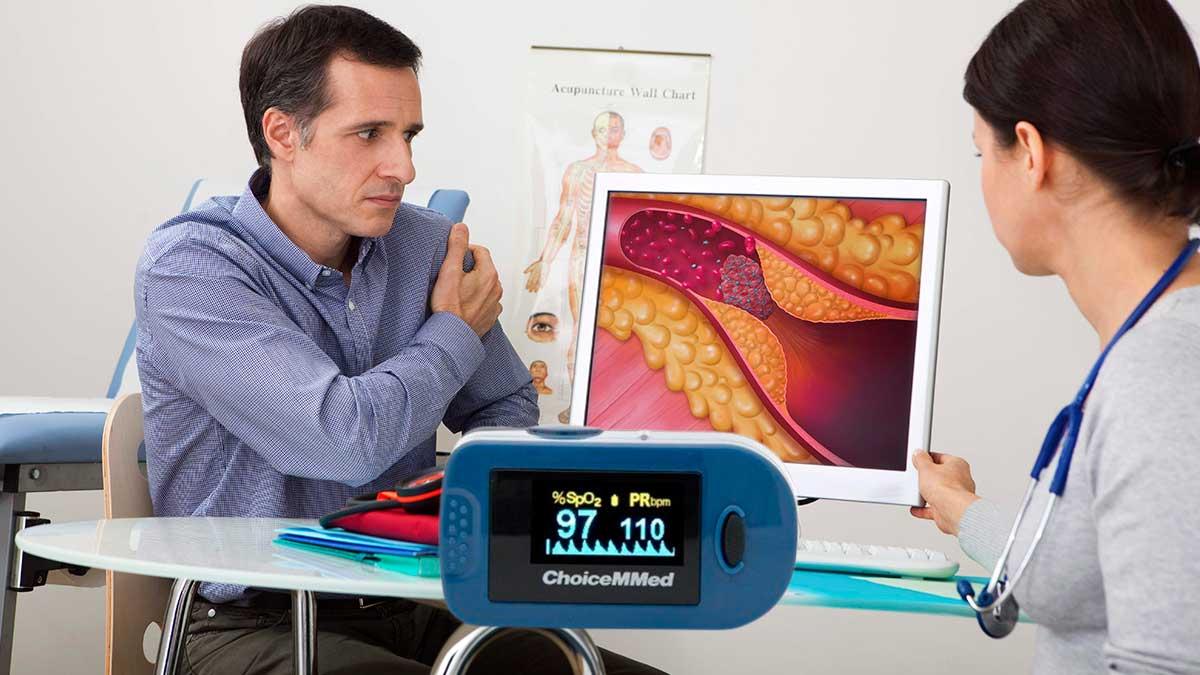 Пульсоксиметр риск тромбозов