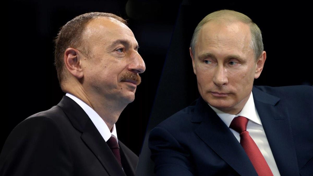 Путин и Ильхам Алиев