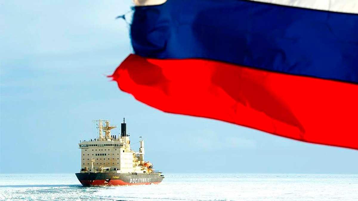 РосАтомФлот Арктика флаг Россия