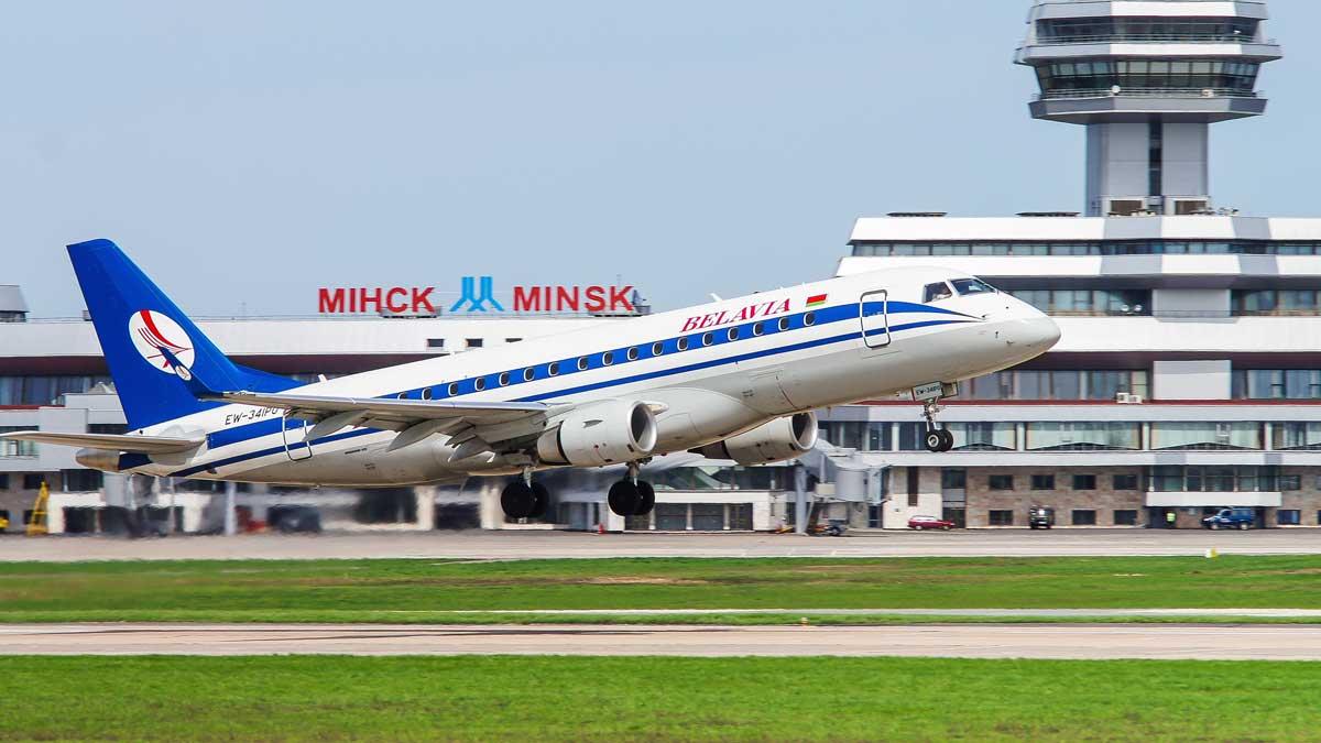 международный аэропорт Минск