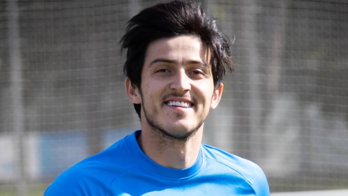 Футболист Сердар Азмун - Sardar Azmoun