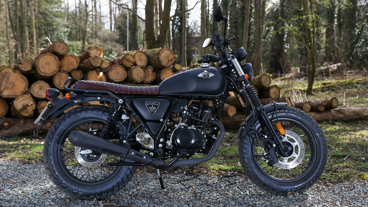 WK Bikes Scrambler 125 мотоцикл