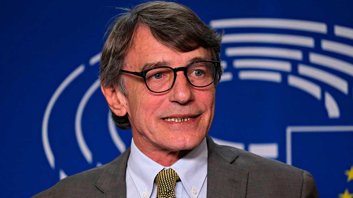 Спикер Европейского парламента Давид Сассоли