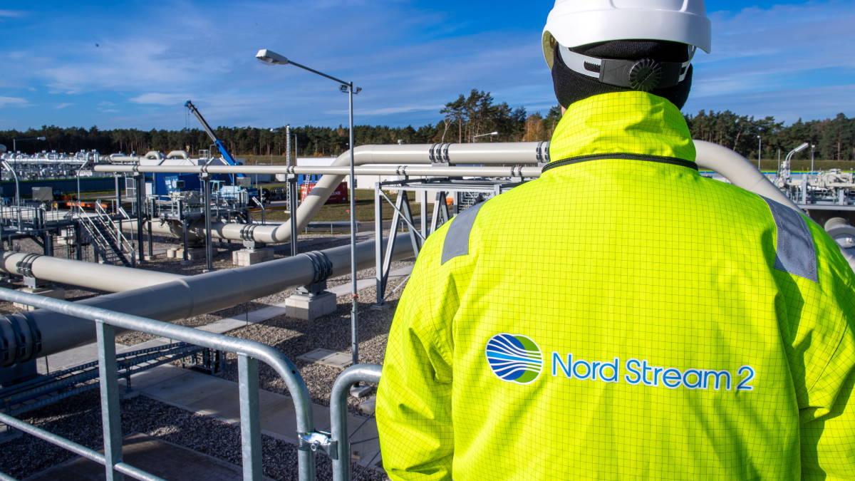 Строительство участка газопровода Северный поток-2