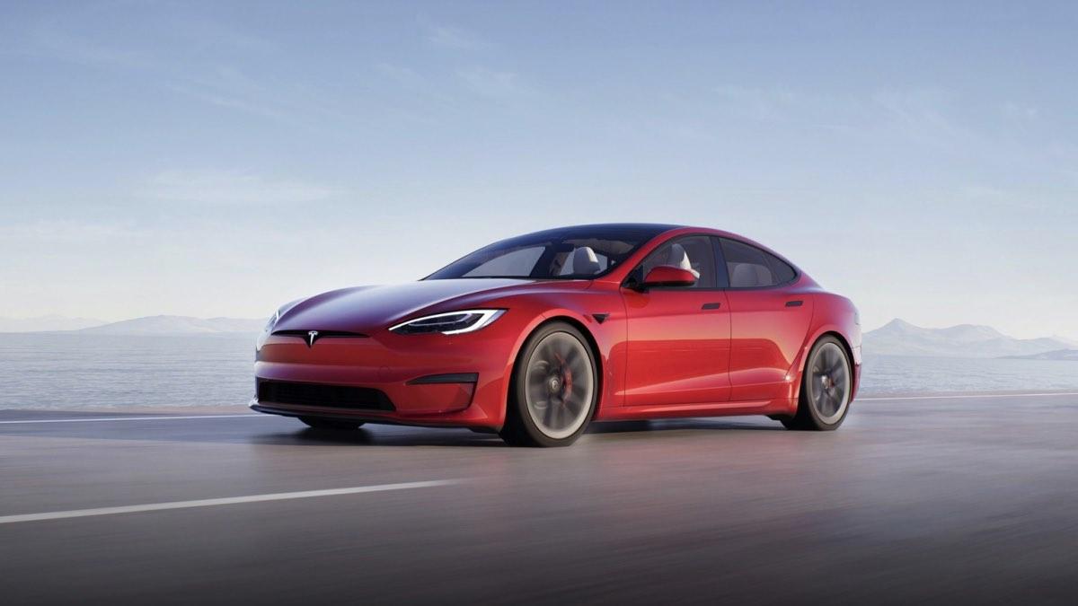 Tesla Model S Plaid самый быстрый