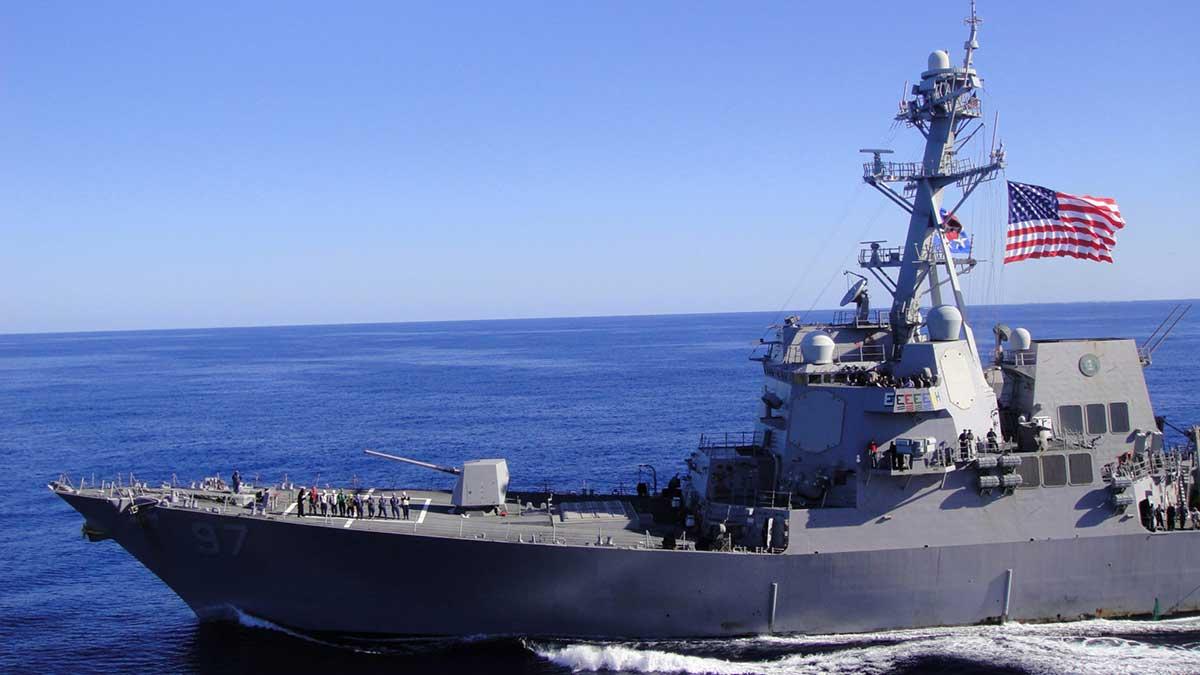US Navy ВМС США destroyer