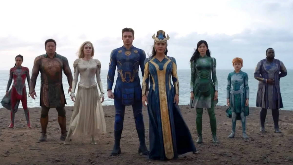 Кадр из фильма Вечные