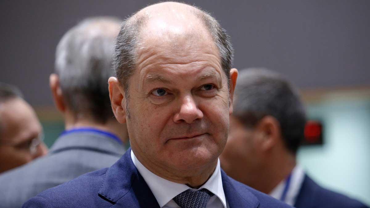Вице-канцлер ФРГ Олаф Шольц