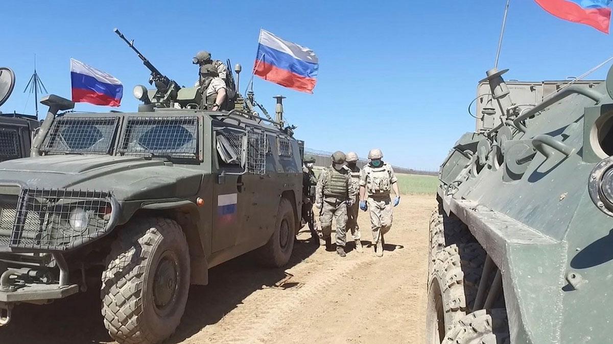 Военная полиция Министерства обороны Российской Федерации в сирии