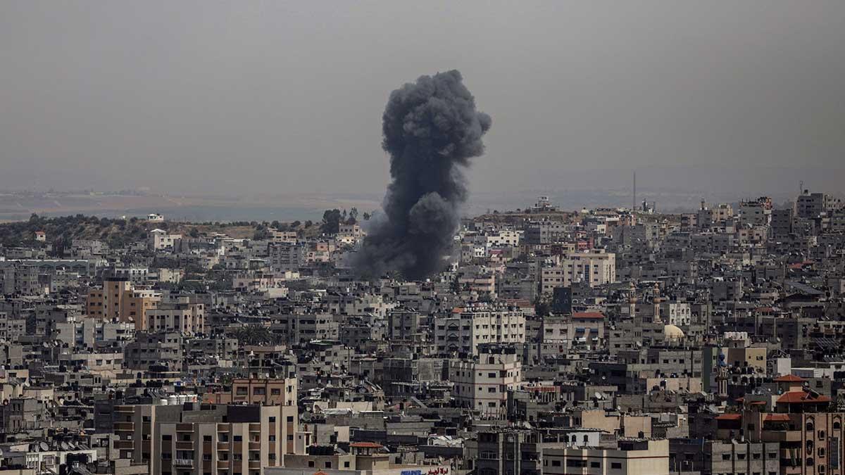 Взрыв Сектор Газа город