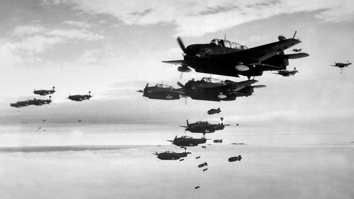 World War II Вторая Мировая Война самолеты бомбы