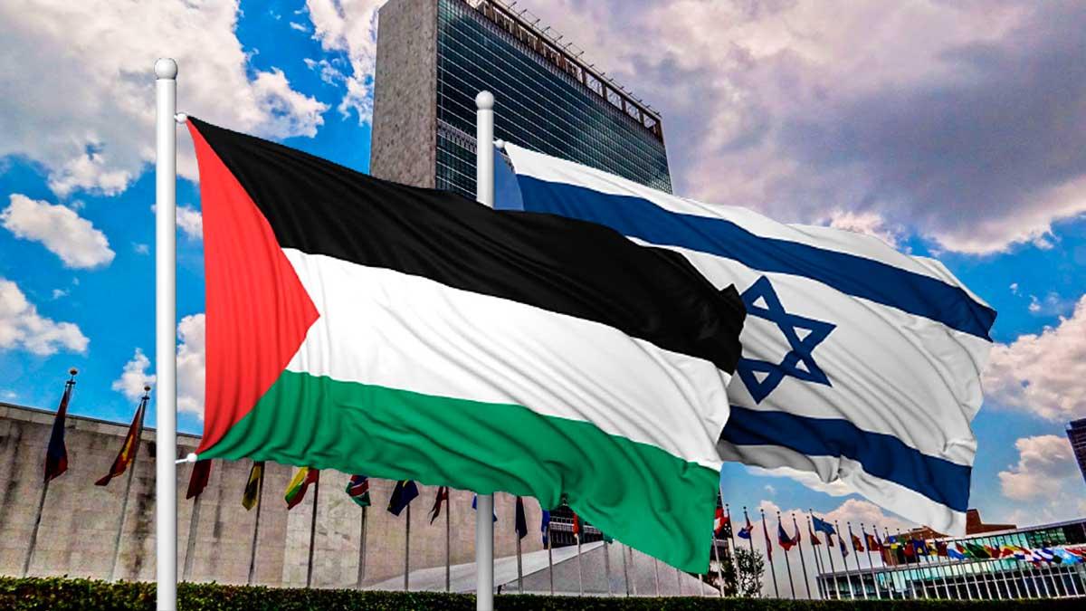 флаги Палестина Израиль