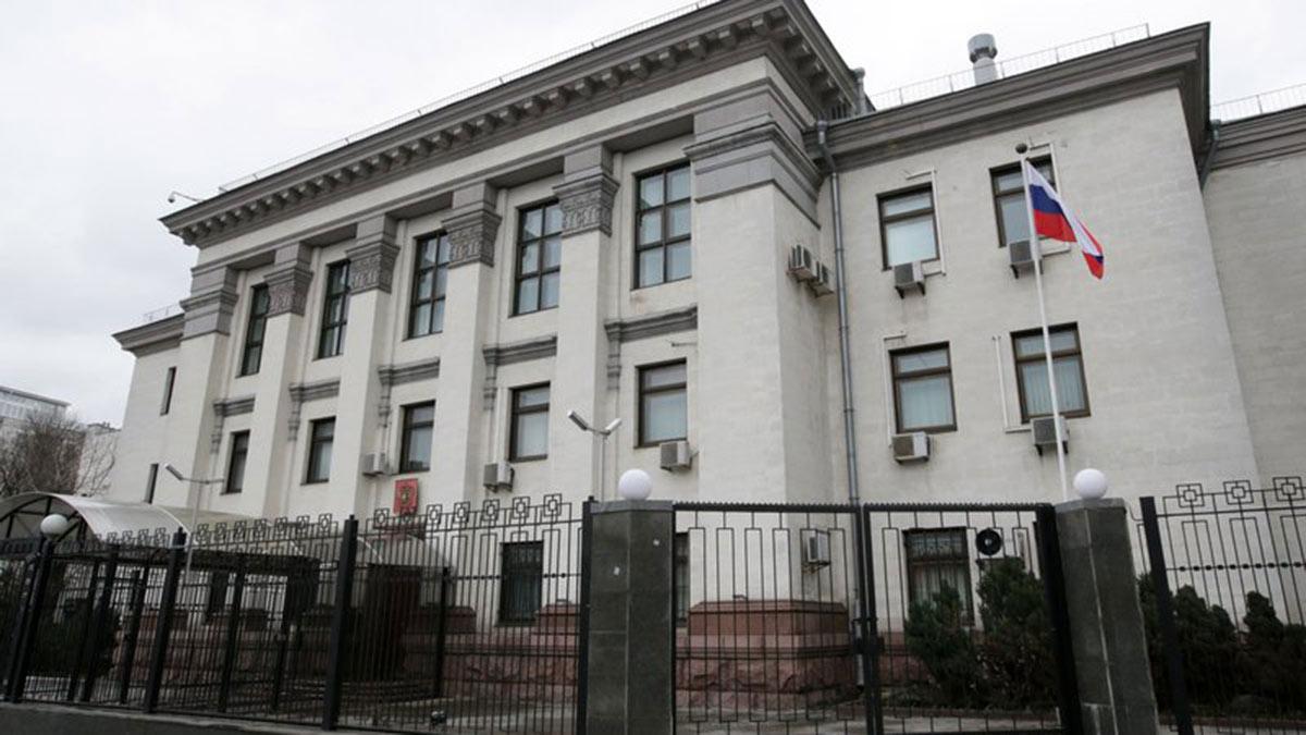 Здание Посольство РФ в Киеве