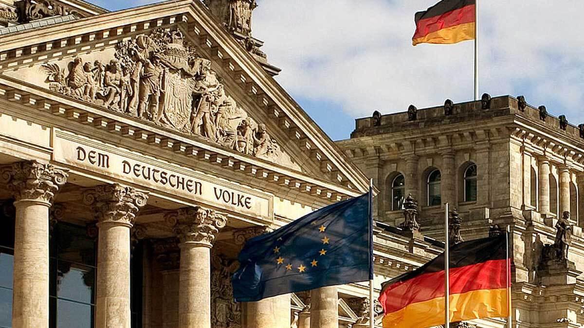 Здание правительства Германии