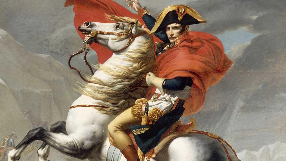 Жак-Луи Давид Наполеон на перевале сен-Бернар