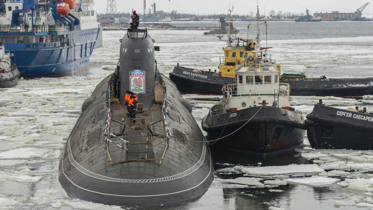 атомная субмарина К-561 Казань