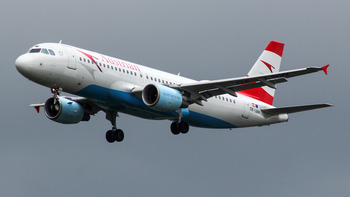 Airbus A320 Austrian airlines