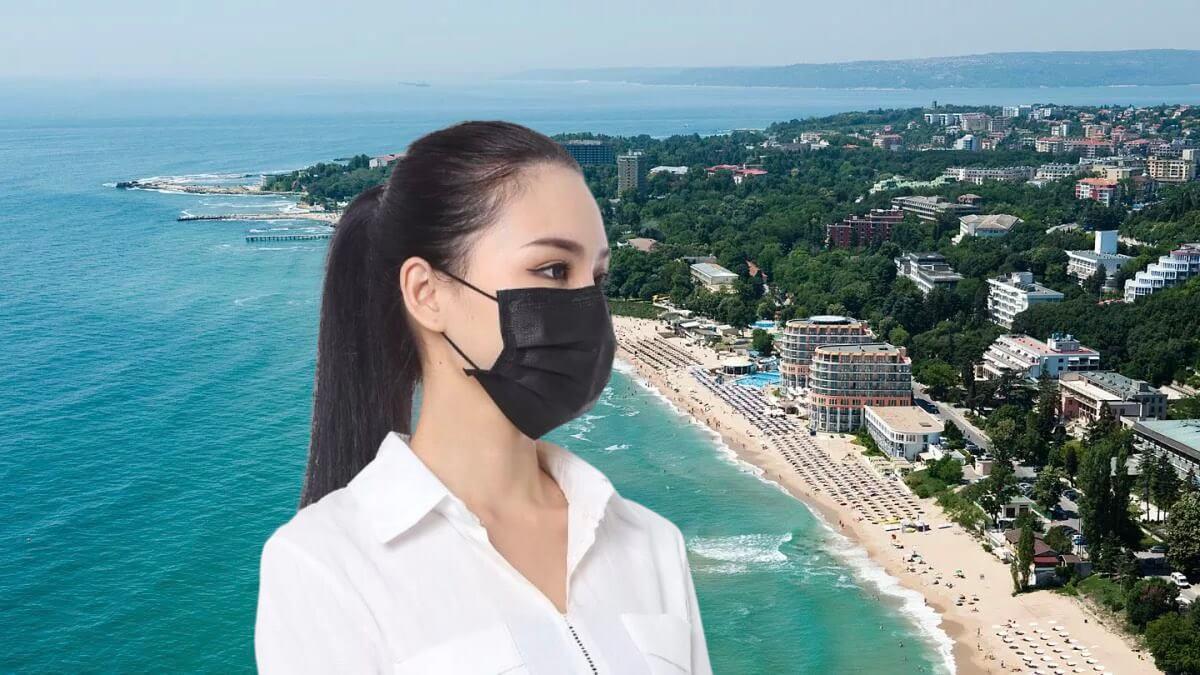 болгария и девушка в маске