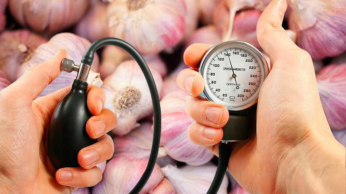 чеснок и артериальное давление