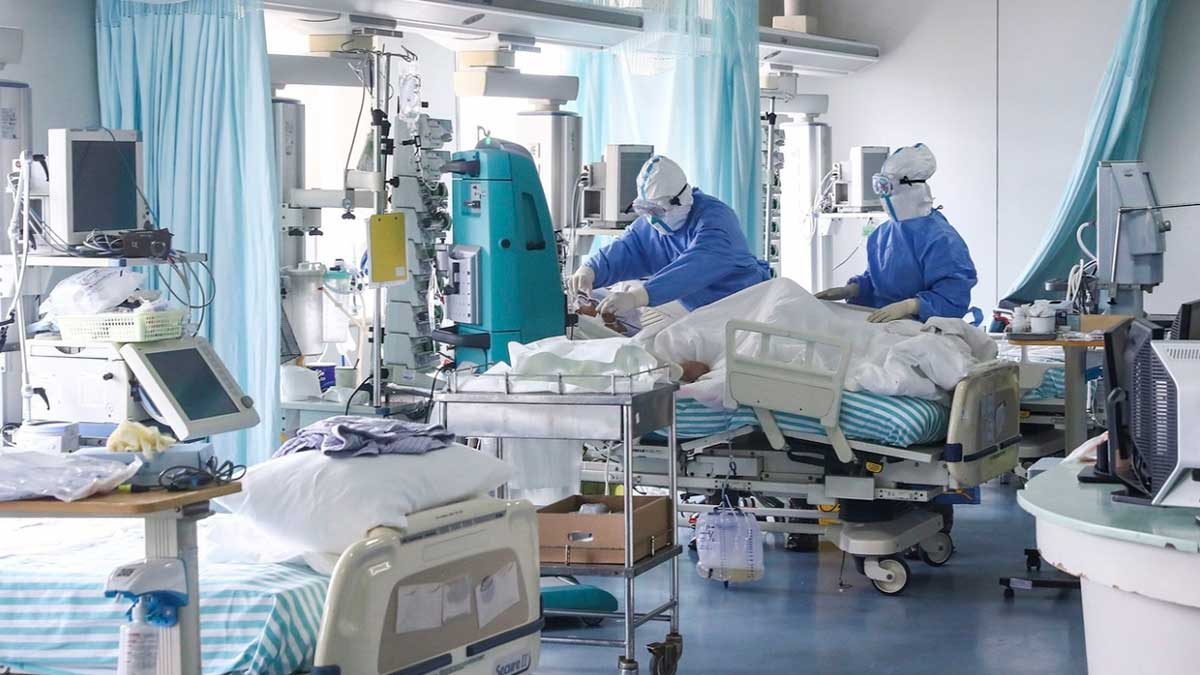 коронавирус больница врачи аппаратура