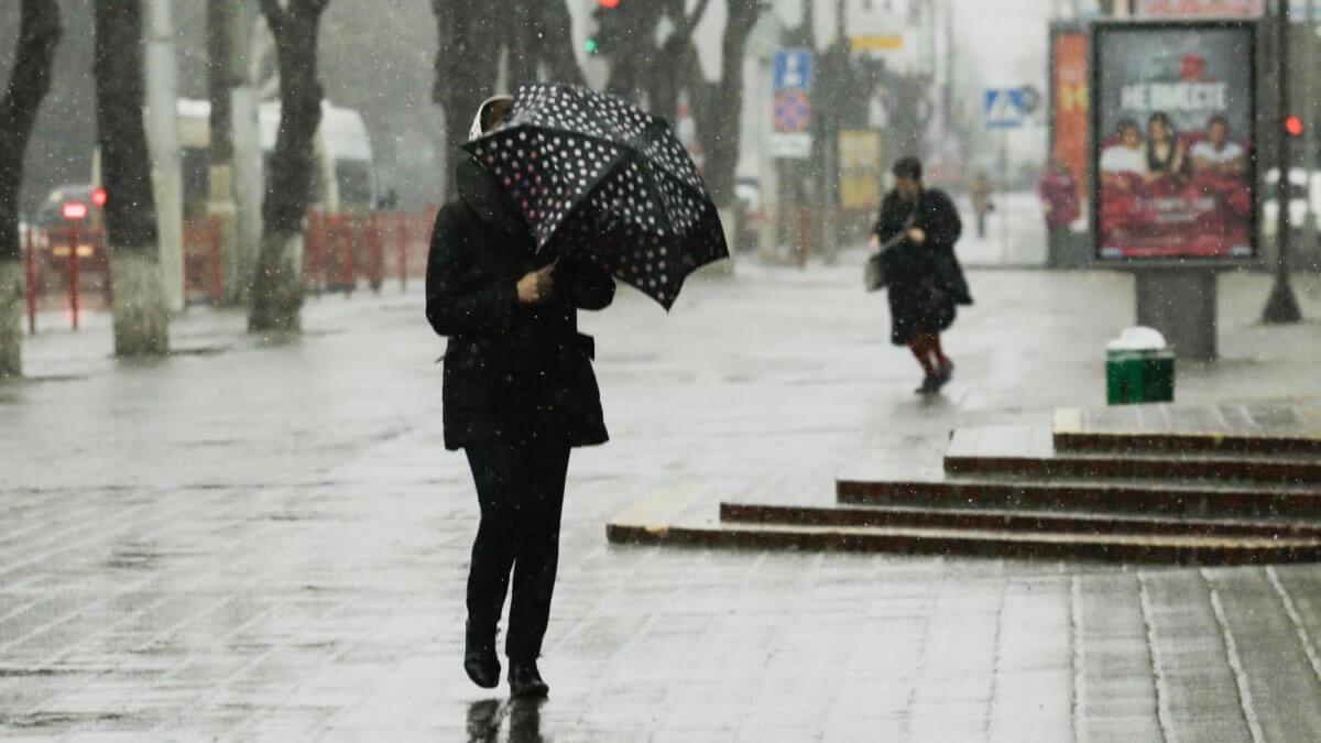 дождливый апрель 2021