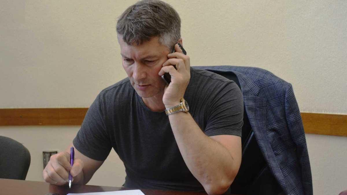 экс-главе Екатеринбурга Евгений Ройзман