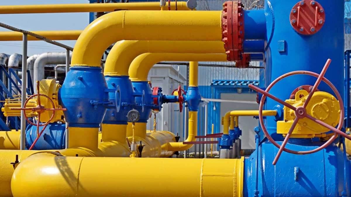 газ трубы