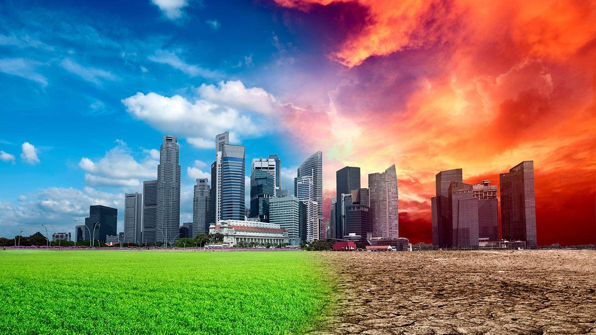 глобальное потепление город засуха изменение климата катастрофа