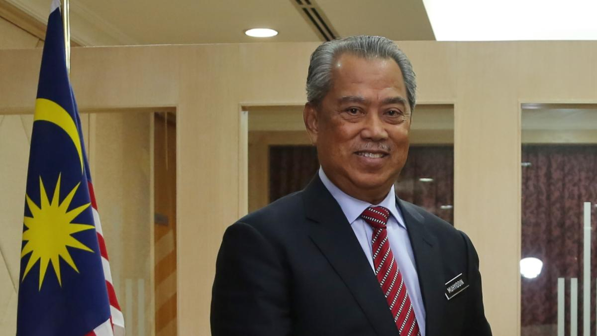 Премьер-министр Малайзии Мухиддин Яссин
