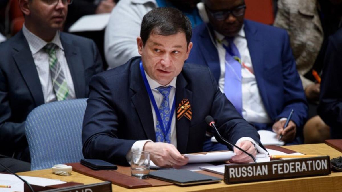 Дмитрий Полянский заместитель постпреда при ООН