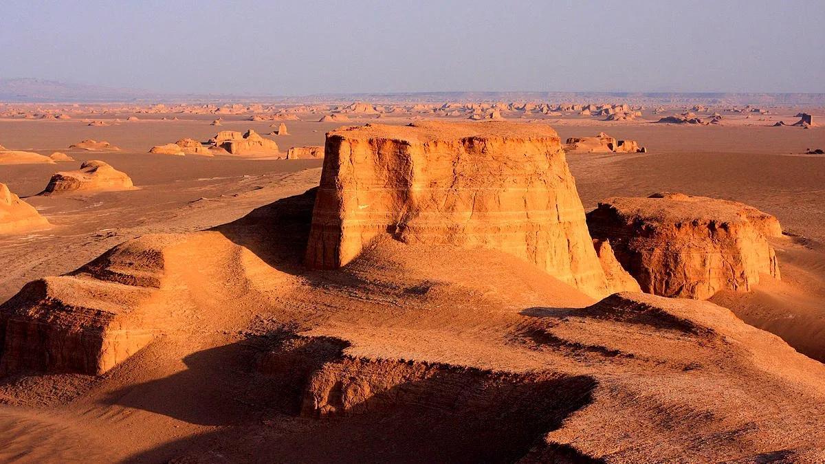 Иран, пустыня Деште-лут