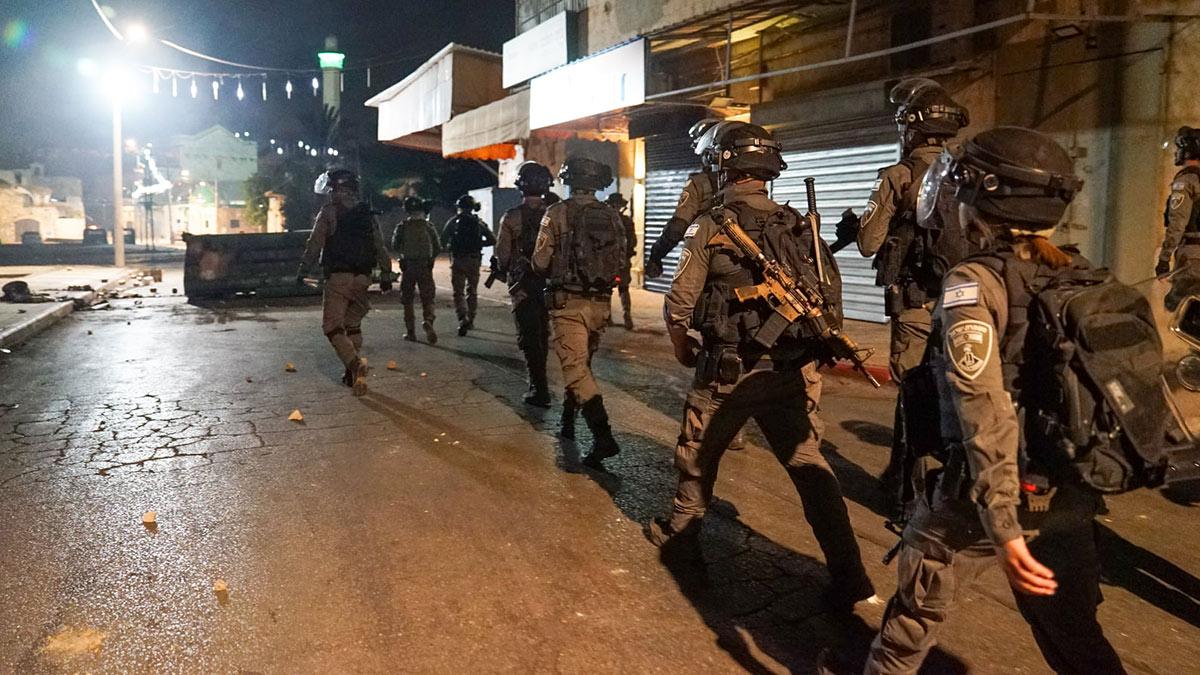 израильские военные на улицах