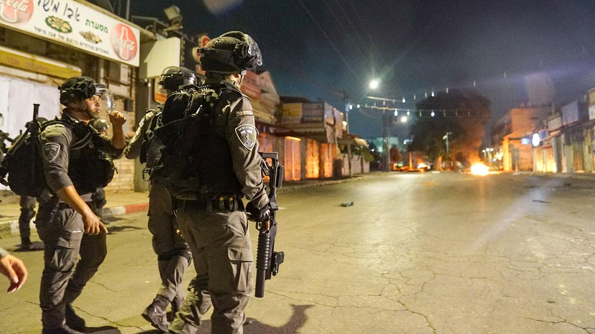 израильско-палестинский конфликт