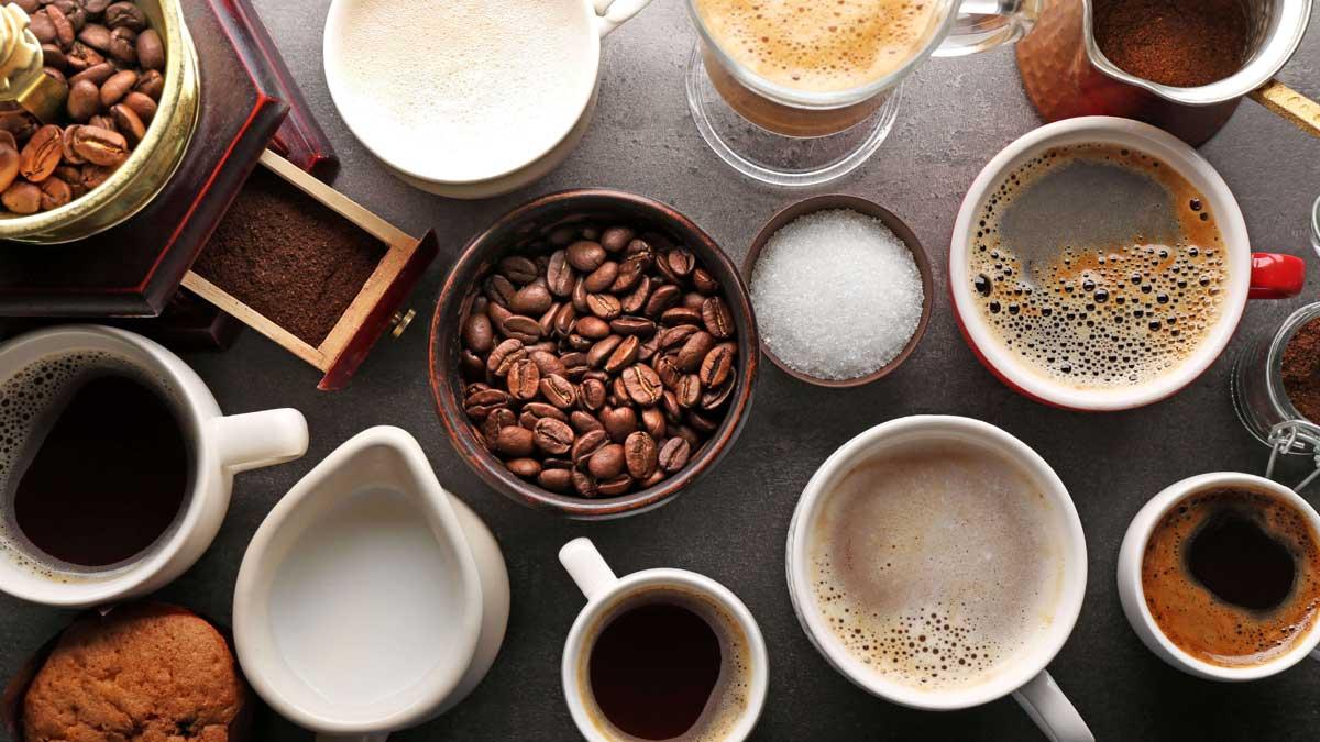 кофе чашки зерна сахар