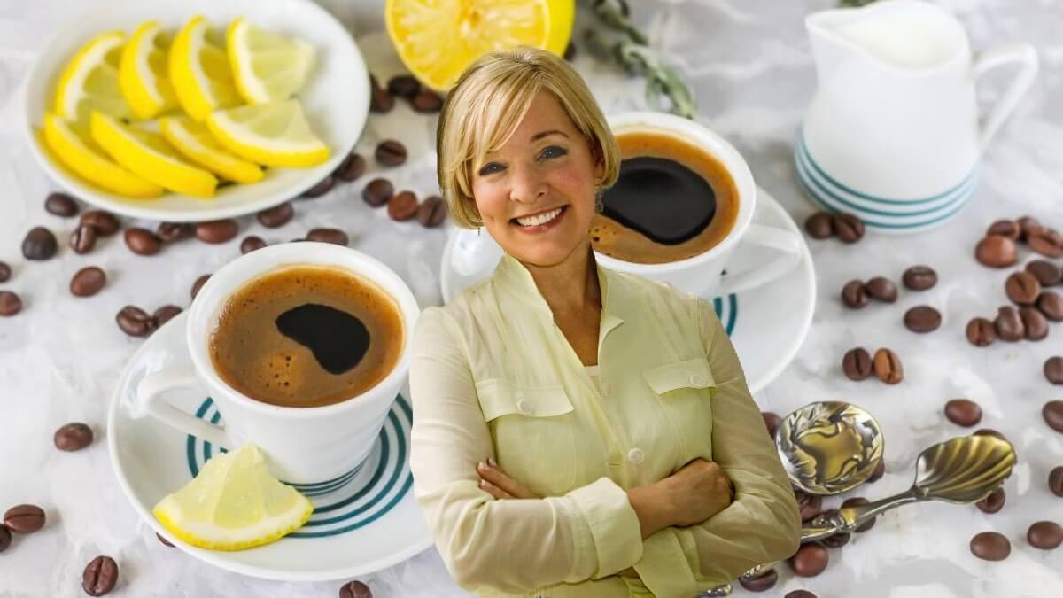 кофе с лимоном и долголетие