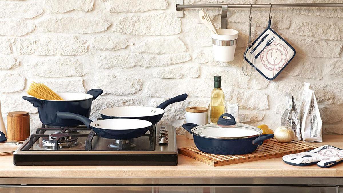 кухонная утварь посуда сковорода кастрюля