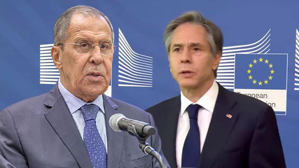 Сергей Лавров и Энтони Блинкен
