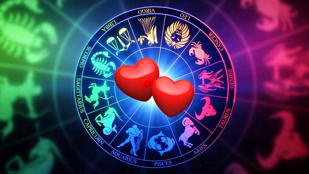 любовь знаки зодиака два сердца