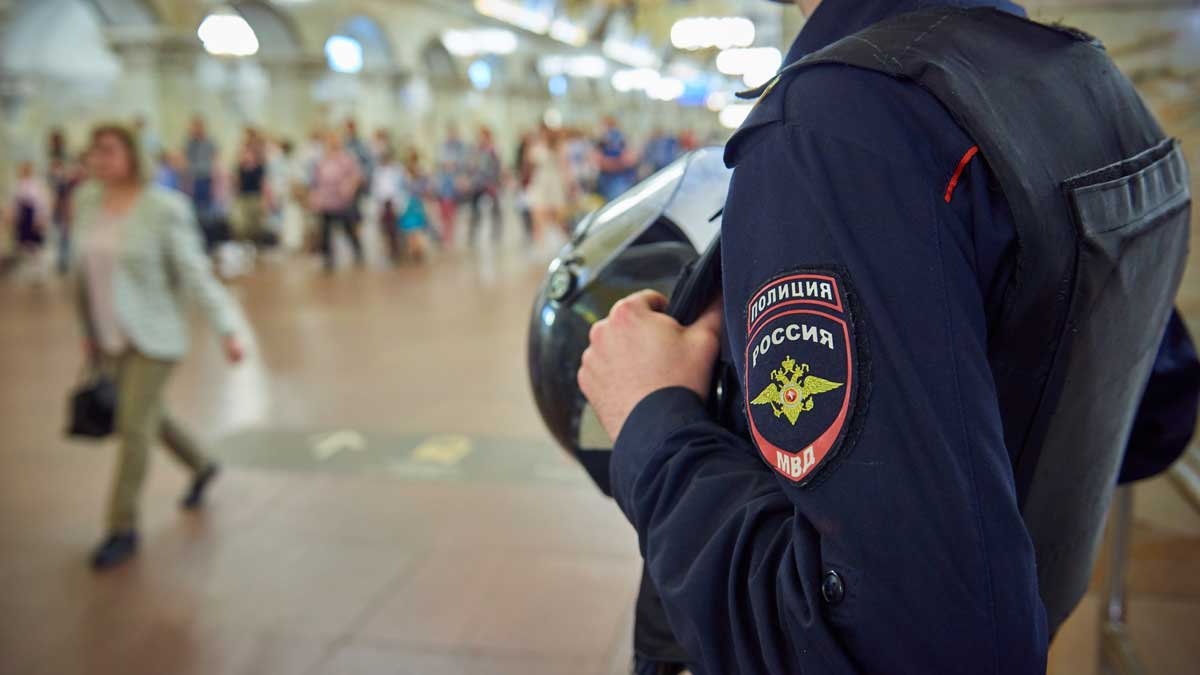 полиция метро Россия