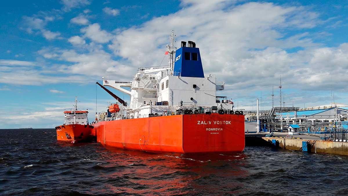 морской грузовой порт
