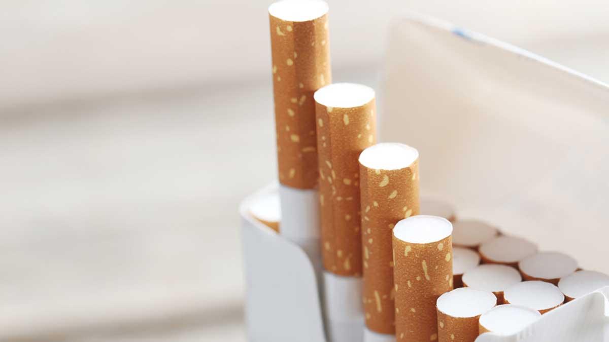 пачка сигареты