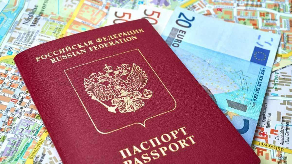 паспорт банкноты евро карта