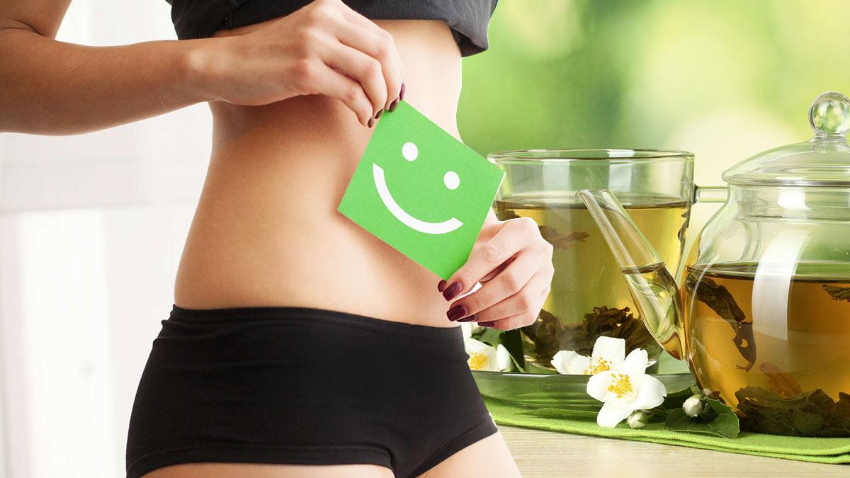 пищеварение польза зеленого чая
