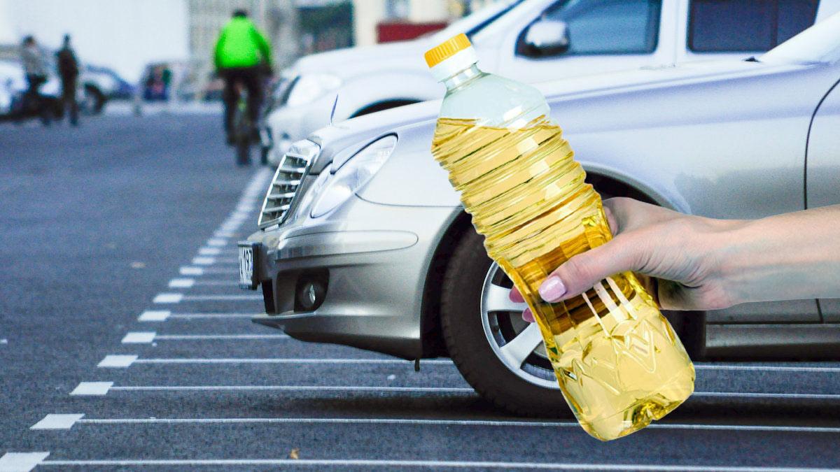 подсолнечное масло применение в автомобиле