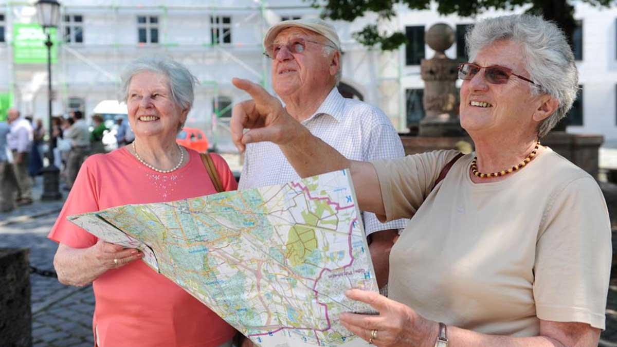 поездки по стране для пенсионеров