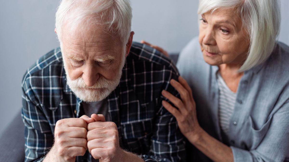 пожилая пара пенсионеры болезнь деменция
